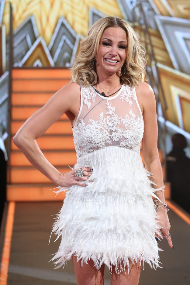 Sarah Harding was emotional throughout the evening after being announced as the winner of Celebrity Big Brother