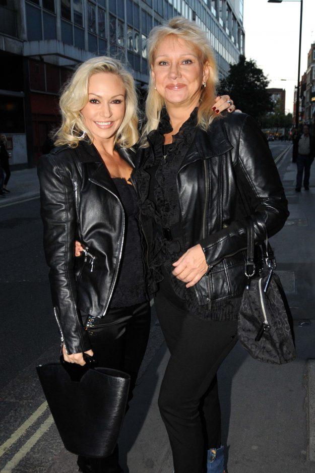 Kristina Rihanoff and her mother Larisa Rihanoff