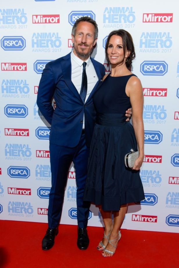 Andrea McLean and Nick Feeney at the RSPCA Animal Hero Awards