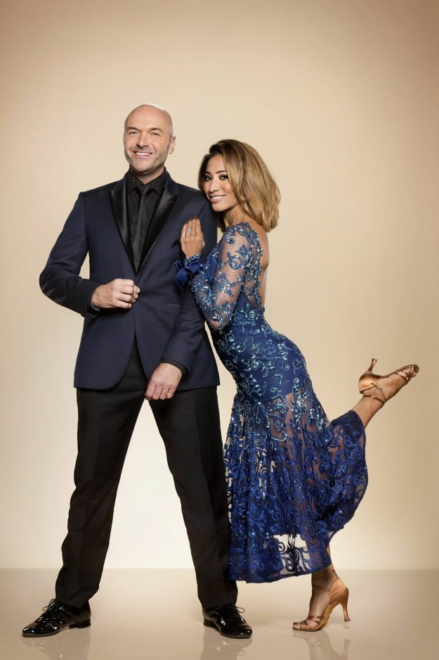 Strictly Come Dancing: Simon Rimmer and Karen Clifton