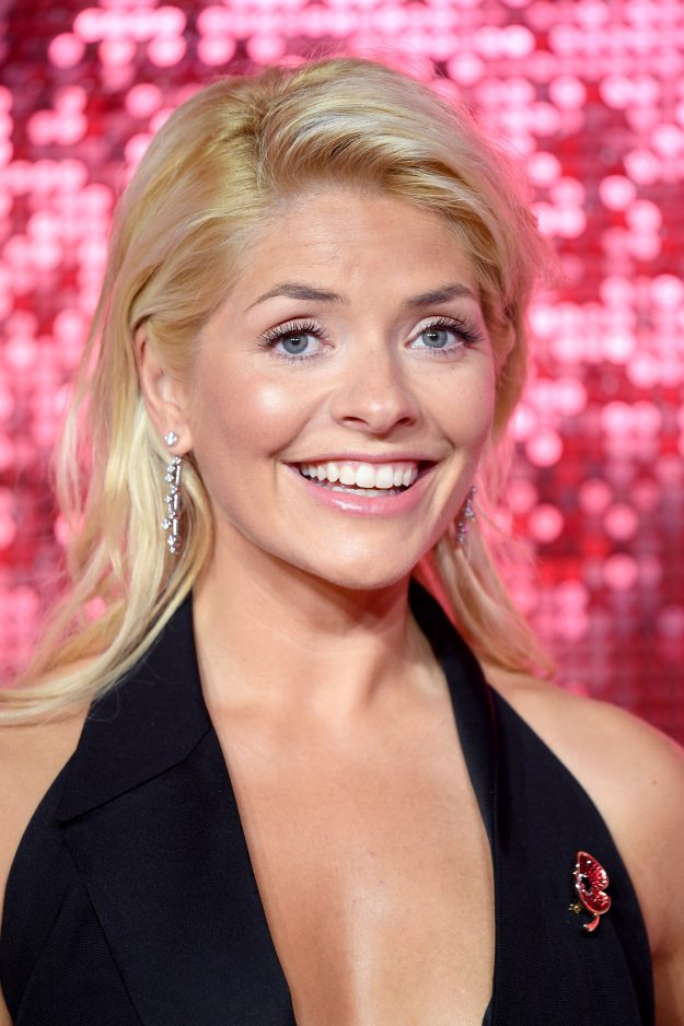 Holly Willoughby sexy hair