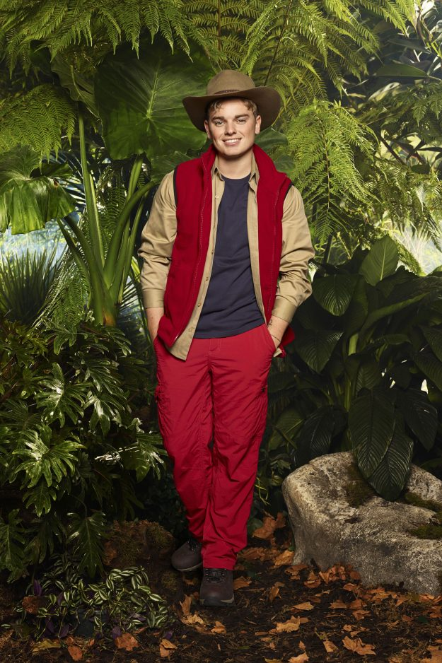 FOR IMMEDIATE USE From ITV Studios I'm A Celebrity Get Me Out Of Here: SR17 on ITV Pictured: Vlogger JACK MAYNARD This photograph is (C) ITV Plc and can only be reproduced for editorial purposes directly in connection with the programme or event mentioned above, or ITV plc. Once made available by ITV plc Picture Desk, this photograph can be reproduced once only up until the transmission [TX] date and no reproduction fee will be charged. Any subsequent usage may incur a fee. This photograph mu