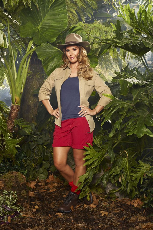 FOR IMMEDIATE USE From ITV Studios I'm A Celebrity Get Me Out Of Here: SR17 on ITV Pictured: Footballer's wife REBEKAH VARDY This photograph is (C) ITV Plc and can only be reproduced for editorial purposes directly in connection with the programme or event mentioned above, or ITV plc. Once made available by ITV plc Picture Desk, this photograph can be reproduced once only up until the transmission [TX] date and no reproduction fee will be charged. Any subsequent usage may incur a fee. This ph