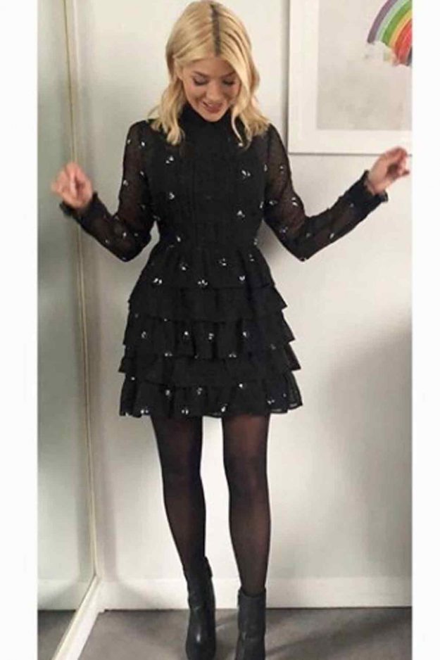 Holly Willoughby wears Very dress for This Morning