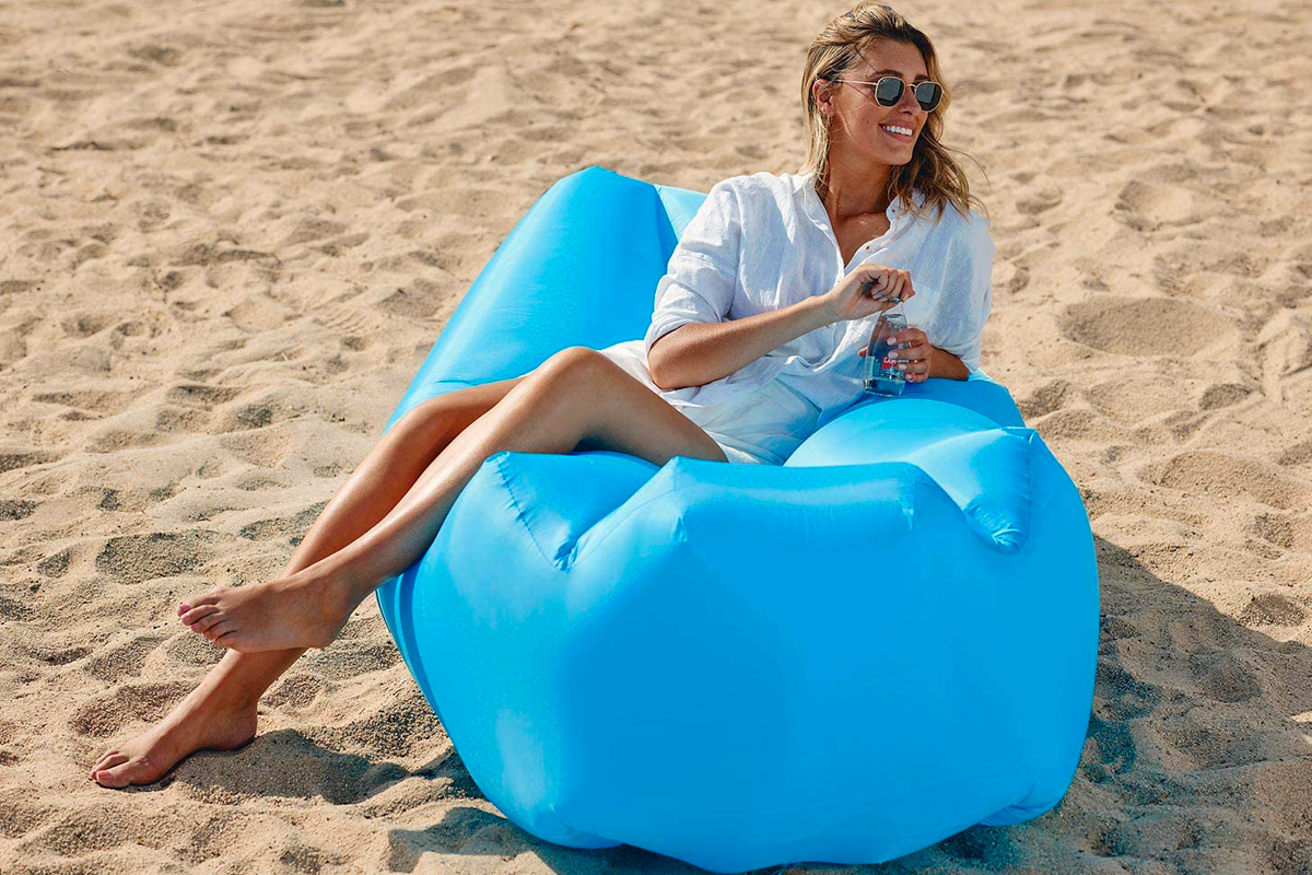 wekapo s inflatable lounger on amazon