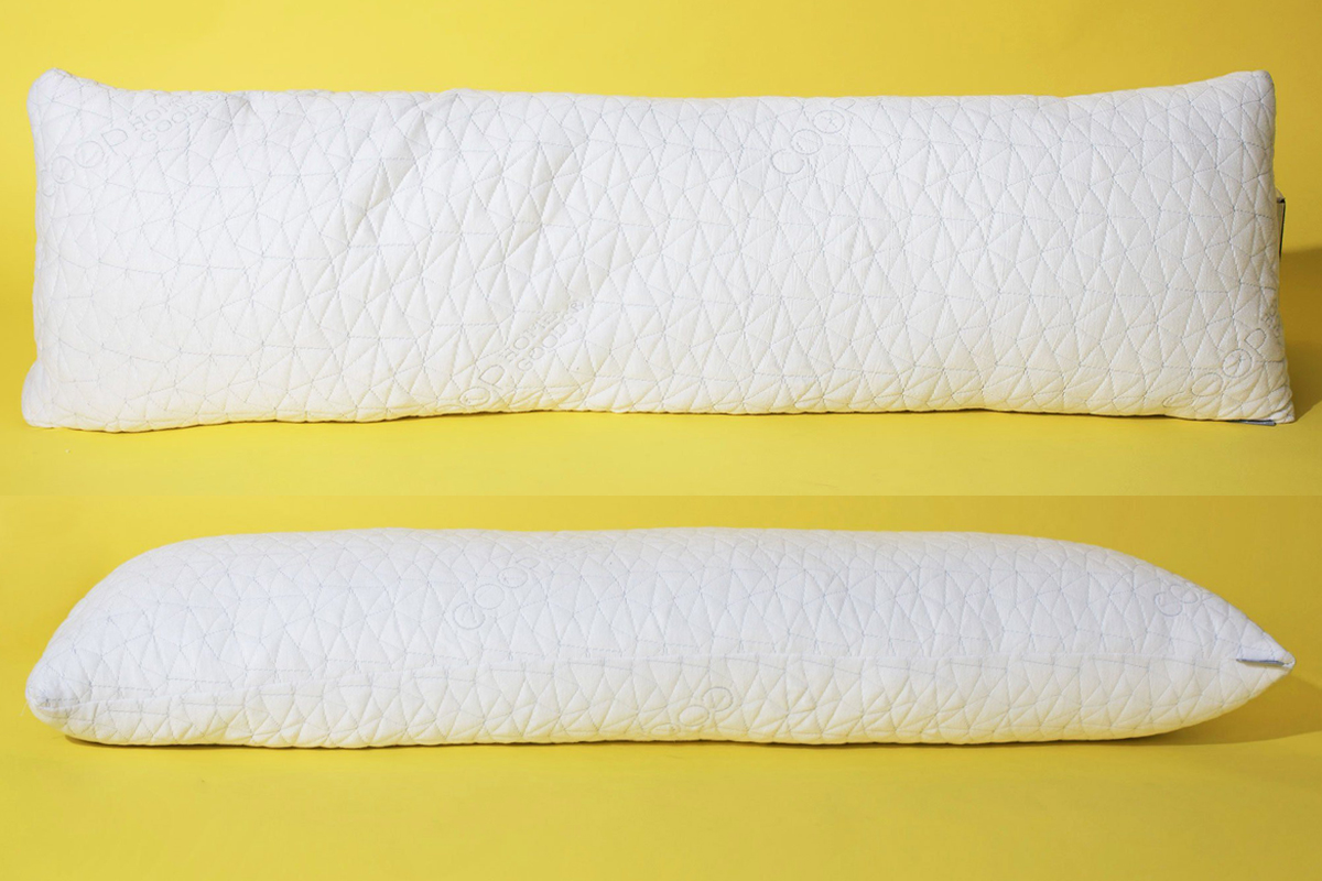 this adjustable body pillow reduces