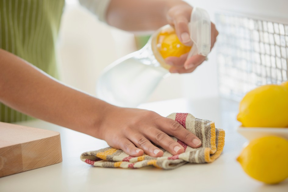 Homemade Cleaning Solution to Scrub Every Inch of Your Home | Real Simple