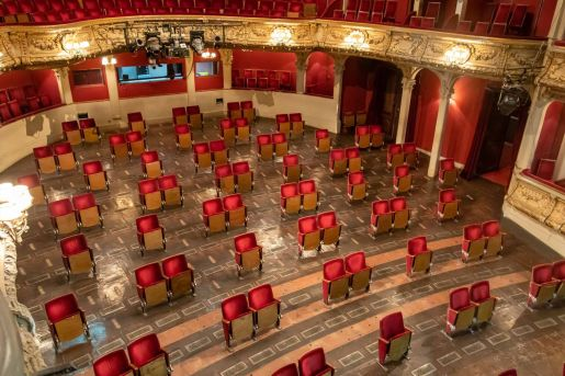 This Theater in Berlin Is Showing the World How the Show Will Go on |  Travel + Leisure | Travel + Leisure