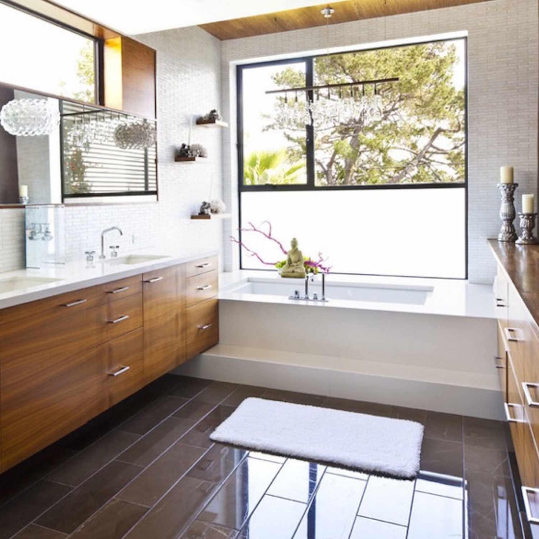 bathroom window treatments we love
