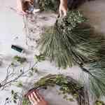 How To Make A Wreath In Any Style Martha Stewart