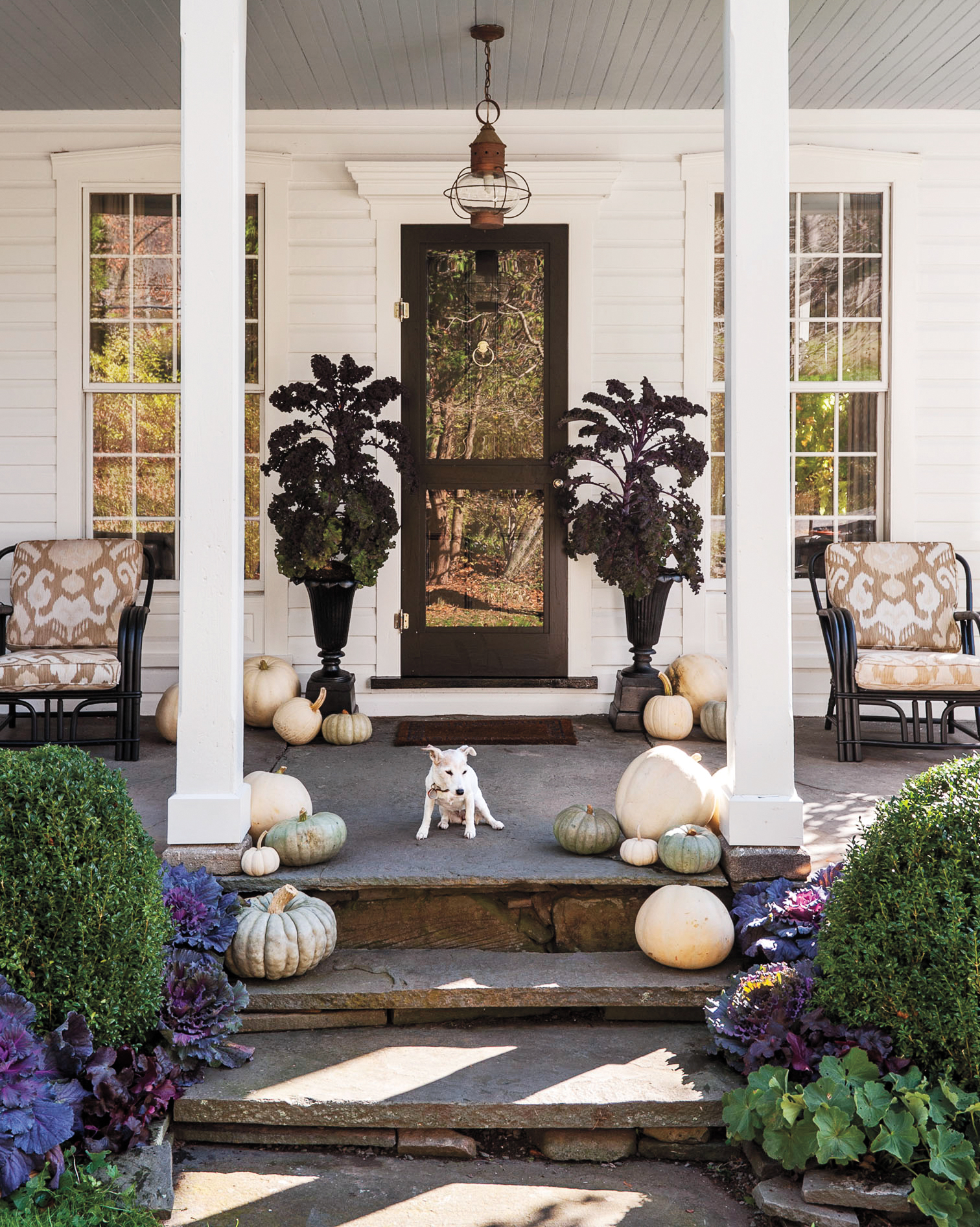 the best front porch decorating ideas for every month of the year martha stewart