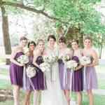 Purple Bridesmaid Dresses Martha Stewart