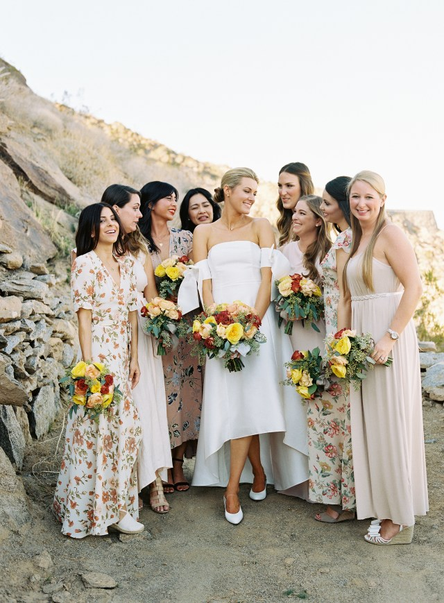 pretty wedding hairstyles for your bridesmaids   martha