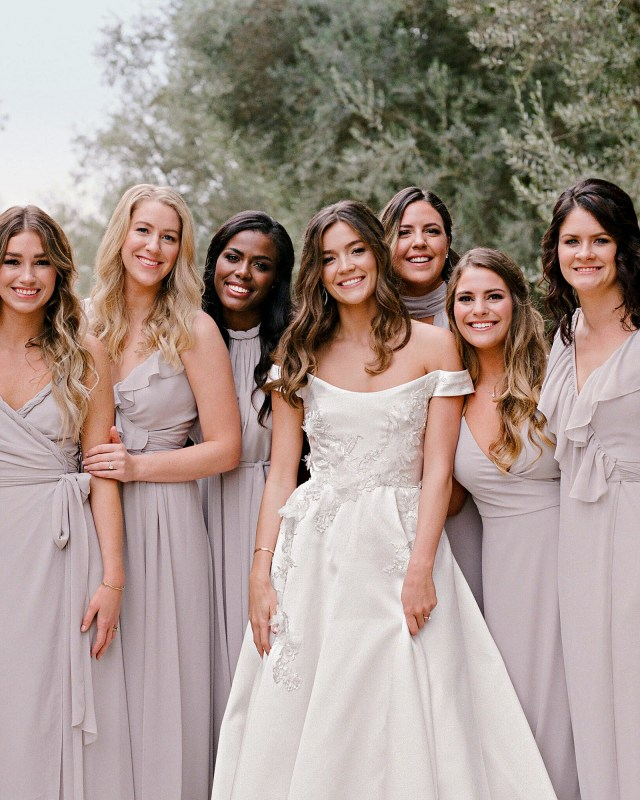 12 new rules for dressing your bridesmaids   martha stewart