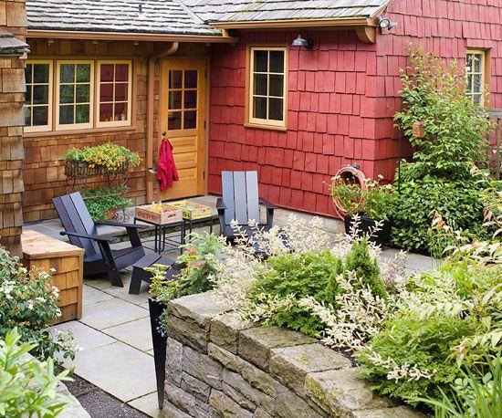 Cheap Backyard Ideas | Better Homes & Gardens on Economical Patio Ideas  id=50242