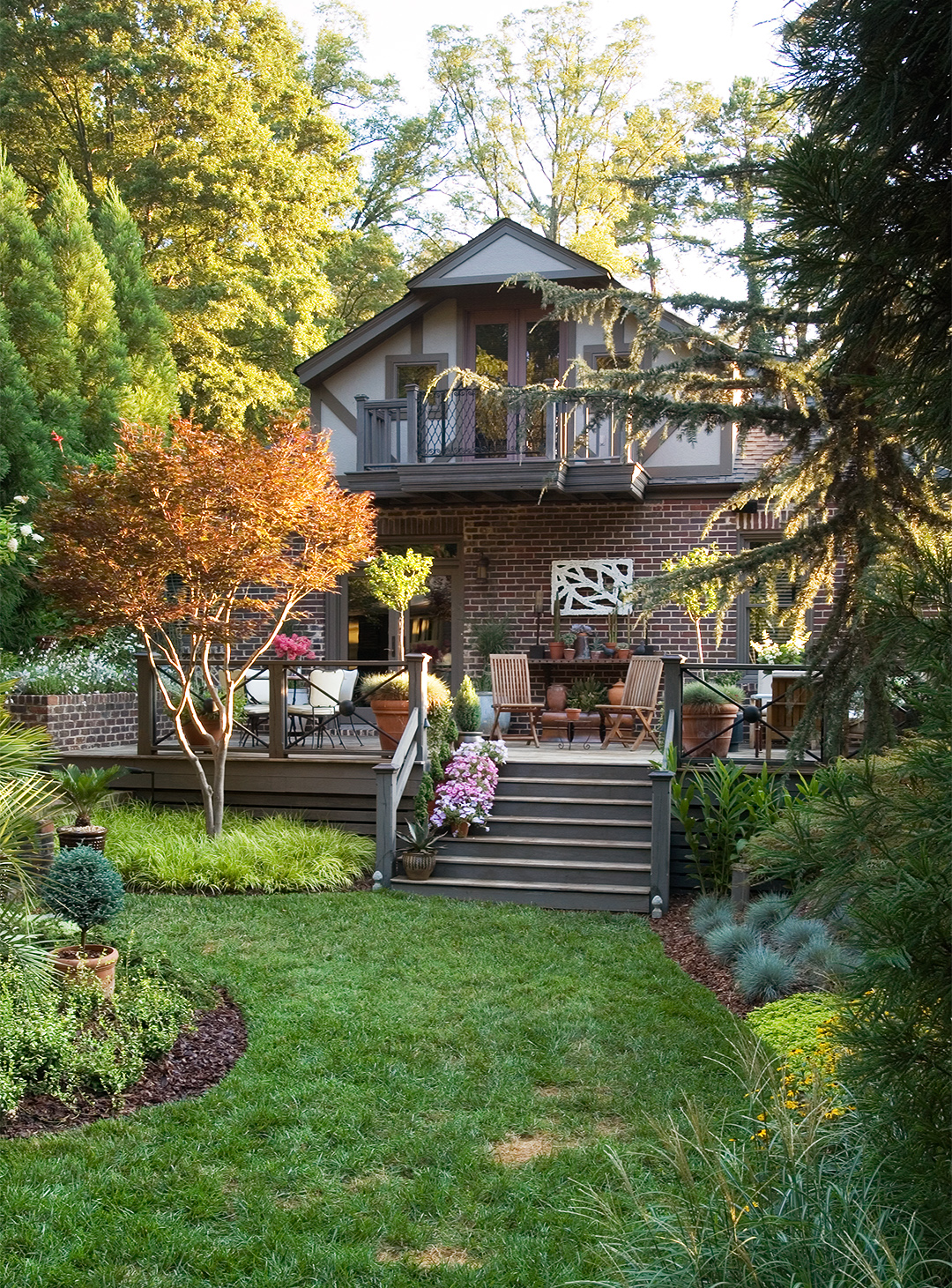 Easy Landscaping Ideas | Better Homes & Gardens on Easy Back Garden Ideas id=63368