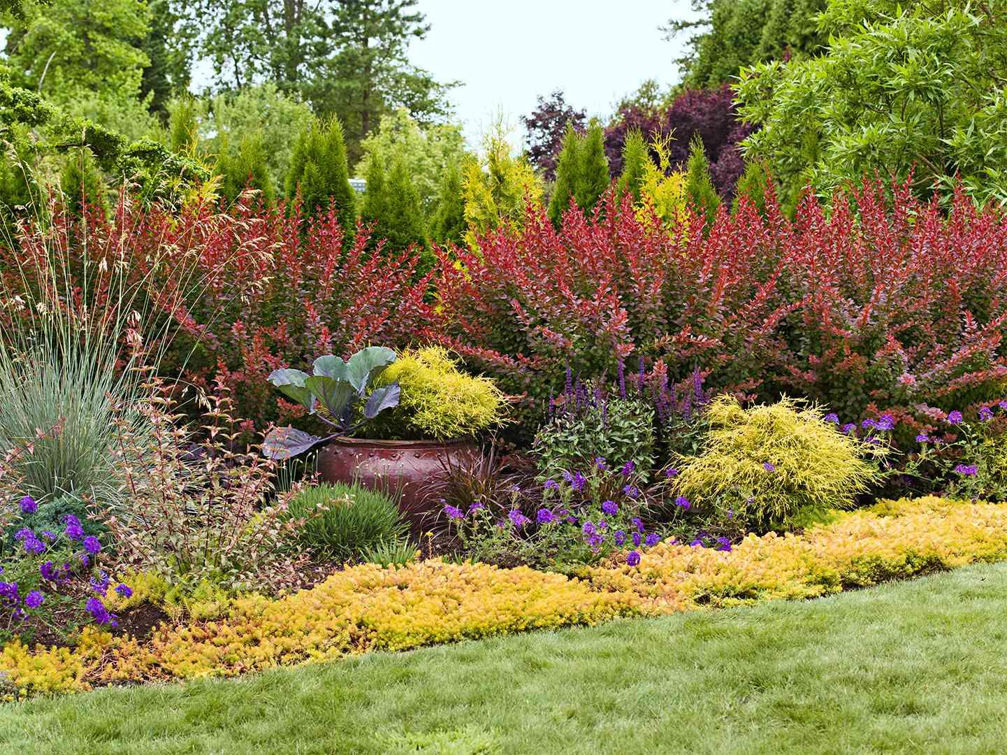 Easy Landscaping Ideas | Better Homes & Gardens on Easy Back Garden Ideas id=51421