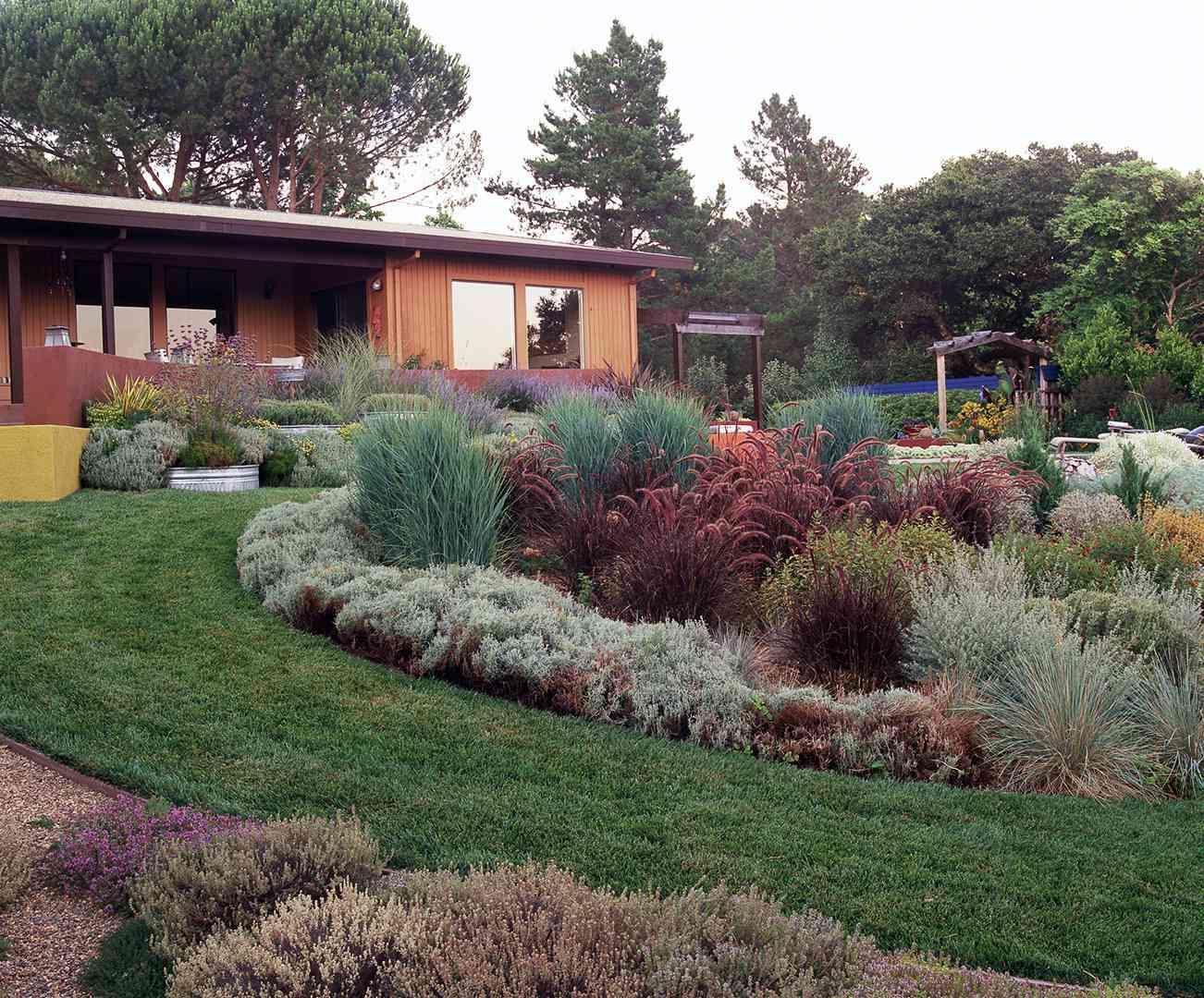 Easy Landscaping Ideas | Better Homes & Gardens on Easy Back Garden Ideas id=43164