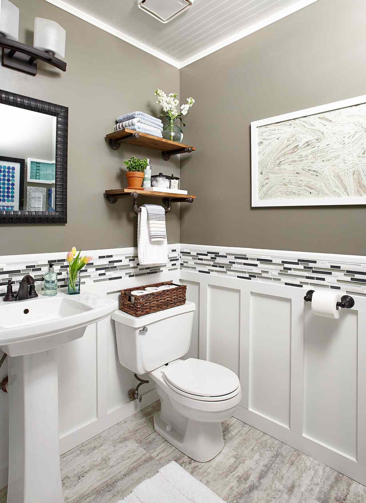 Powder Room Ideas | Better Homes & Gardens on Bathroom Ideas Apartment  id=96614