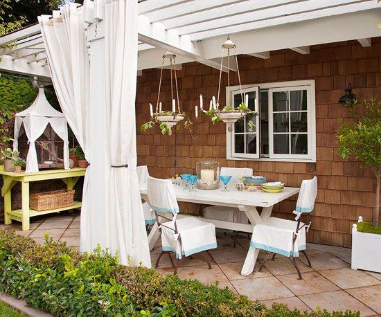 Cheap Backyard Ideas   Better Homes & Gardens on Budget Patio Ideas  id=94603