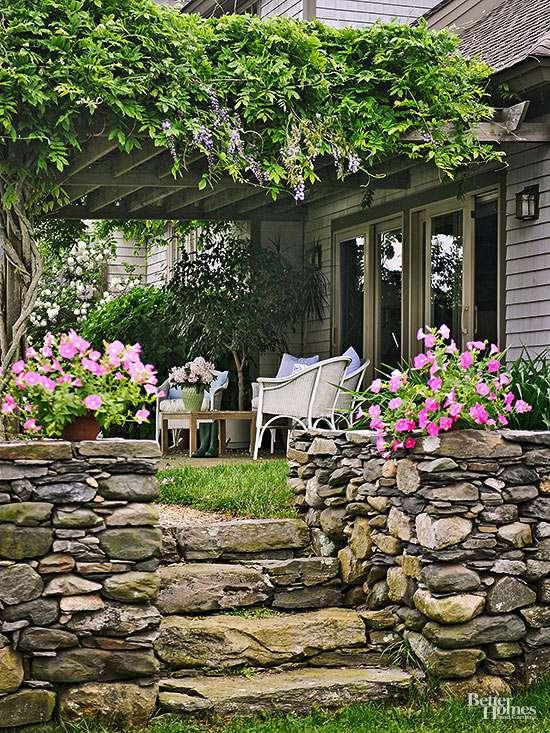 Cheap Backyard Ideas | Better Homes & Gardens on Economical Patio Ideas  id=43981