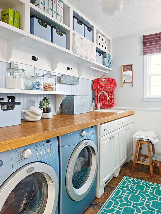 Laundry Room Cabinetry Ideas | Better Homes & Gardens on Laundry Cabinets Ideas  id=50511