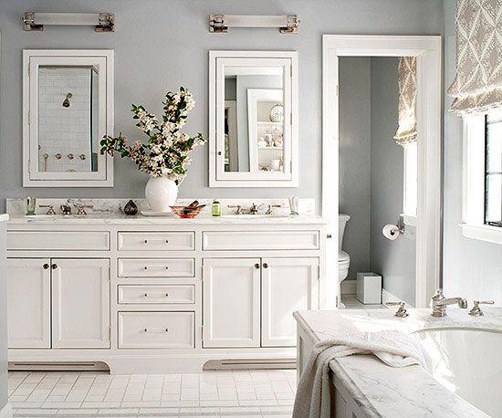 White Bathroom Design Ideas | Better Homes & Gardens on White Bathroom Design Ideas  id=50408