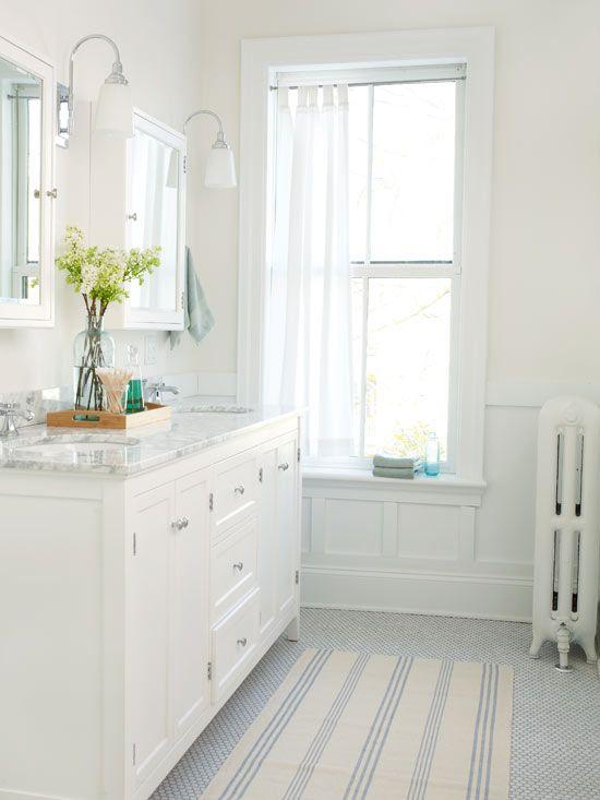 White Bathroom Design Ideas | Better Homes & Gardens on White Bathroom Design Ideas  id=86830