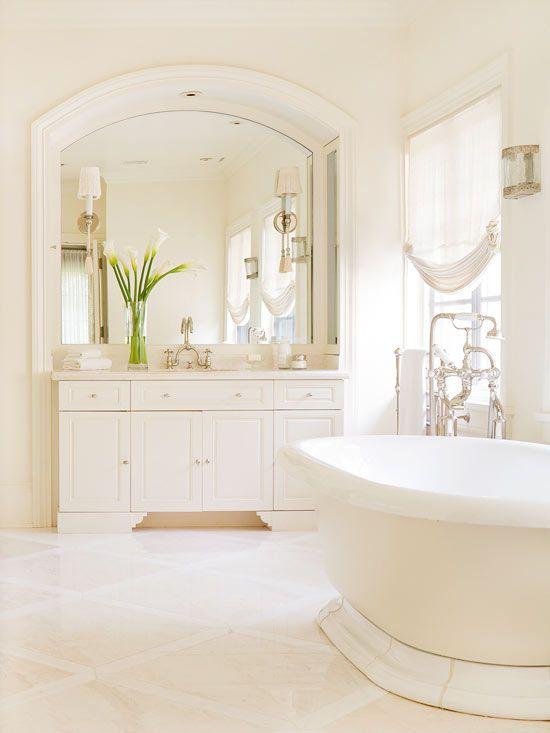 White Bathroom Design Ideas | Better Homes & Gardens on White Bathroom Design Ideas  id=90479