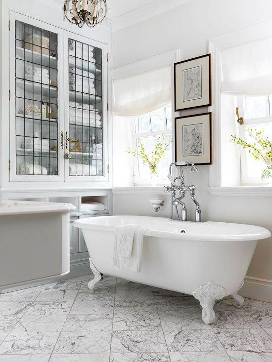 White Bathroom Design Ideas | Better Homes & Gardens on White Bathroom Design Ideas  id=69264