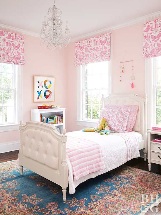 Kid's Bedroom Ideas for Girls | Better Homes & Gardens on Girls Room Decorations  id=74814