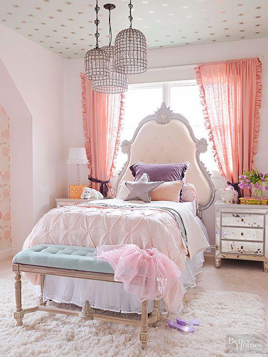 Kid's Bedroom Ideas for Girls | Better Homes & Gardens on Small Room Ideas For Girls  id=35282