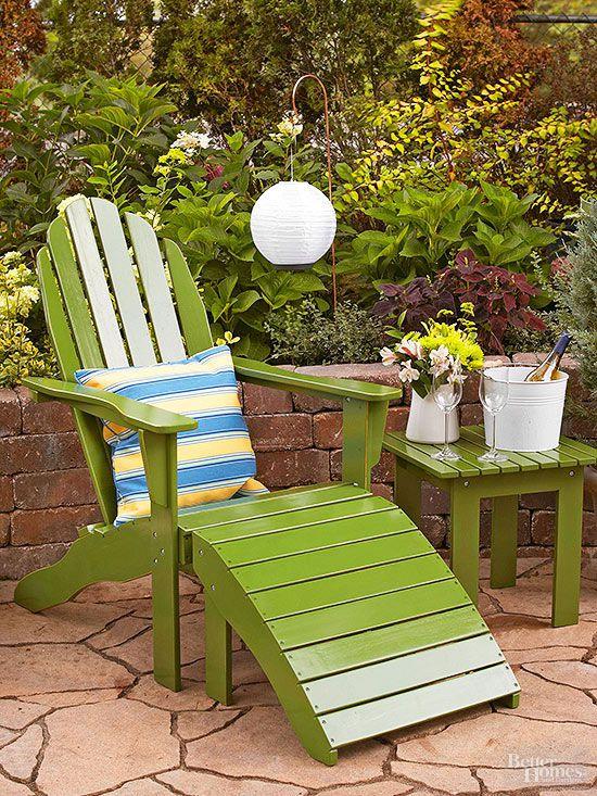 Cheap Patio Ideas | Better Homes & Gardens on Economical Patio Ideas  id=69830