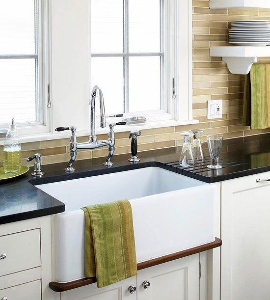 Kitchen Sink Ideas | Better Homes & Gardens on Kitchen Sink Ideas  id=72585