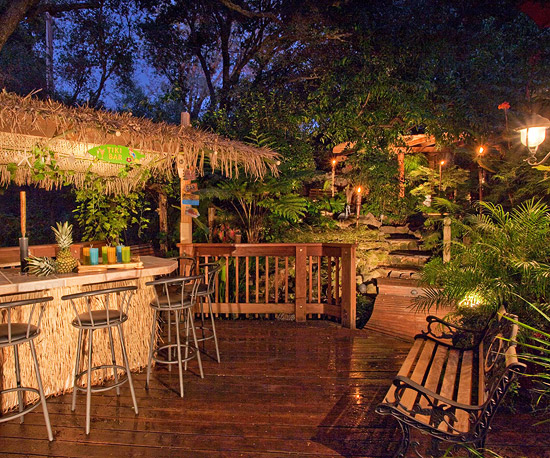 Create a Tropical Retreat in Your Backyard | Better Homes ... on Tropical Backyards  id=28005