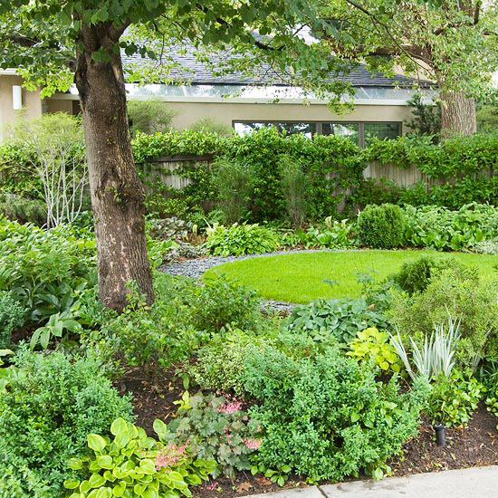 Stunning Shade Garden Design Ideas | Better Homes & Gardens on Shady Yard Ideas id=60330