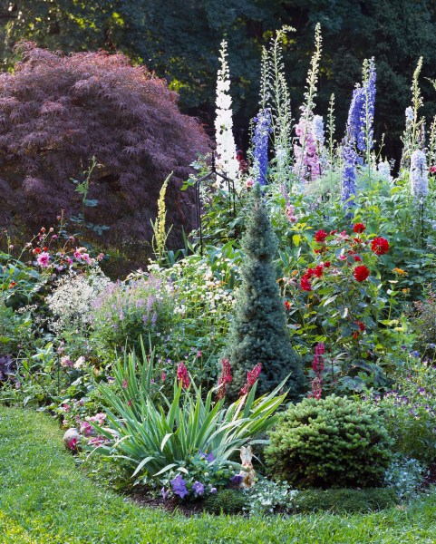 flowers for cottage style gardens 6 Steps to a No-Work Cottage Garden | Better Homes & Gardens