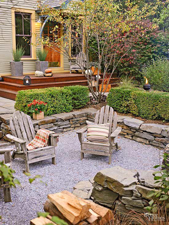 DIY Patio Ideas   Better Homes & Gardens on Diy Backyard Deck Ideas id=34643