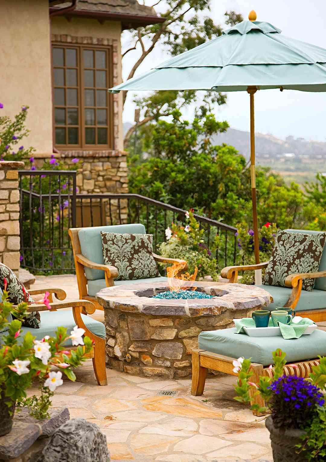 9 Budget-Friendly Backyard Ideas   Better Homes & Gardens on Outdoor Patio Ideas On A Budget id=87028
