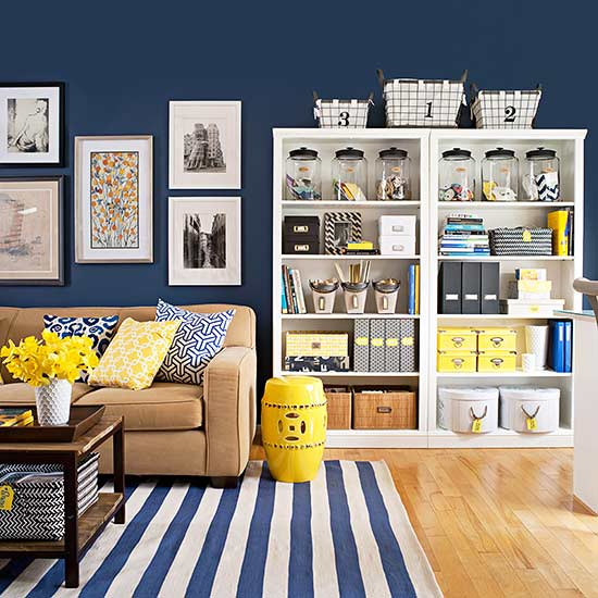 Quick and Easy Living Room Decorating Ideas | Better Homes ... on Room Decoration Ideas  id=80928
