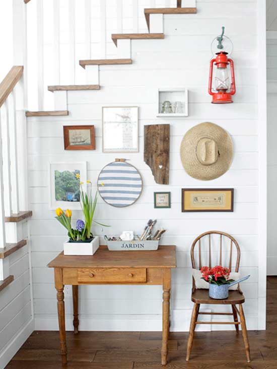 8 Pinterest-Worthy Gallery Wall Ideas for Family Photos ... on Pinterest Wall Decor  id=70954