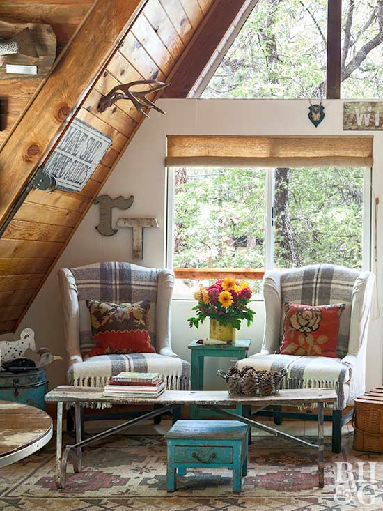 Traditional Rustic Cabin Decor | Better Homes & Gardens on Traditional Rustic Decor  id=87424