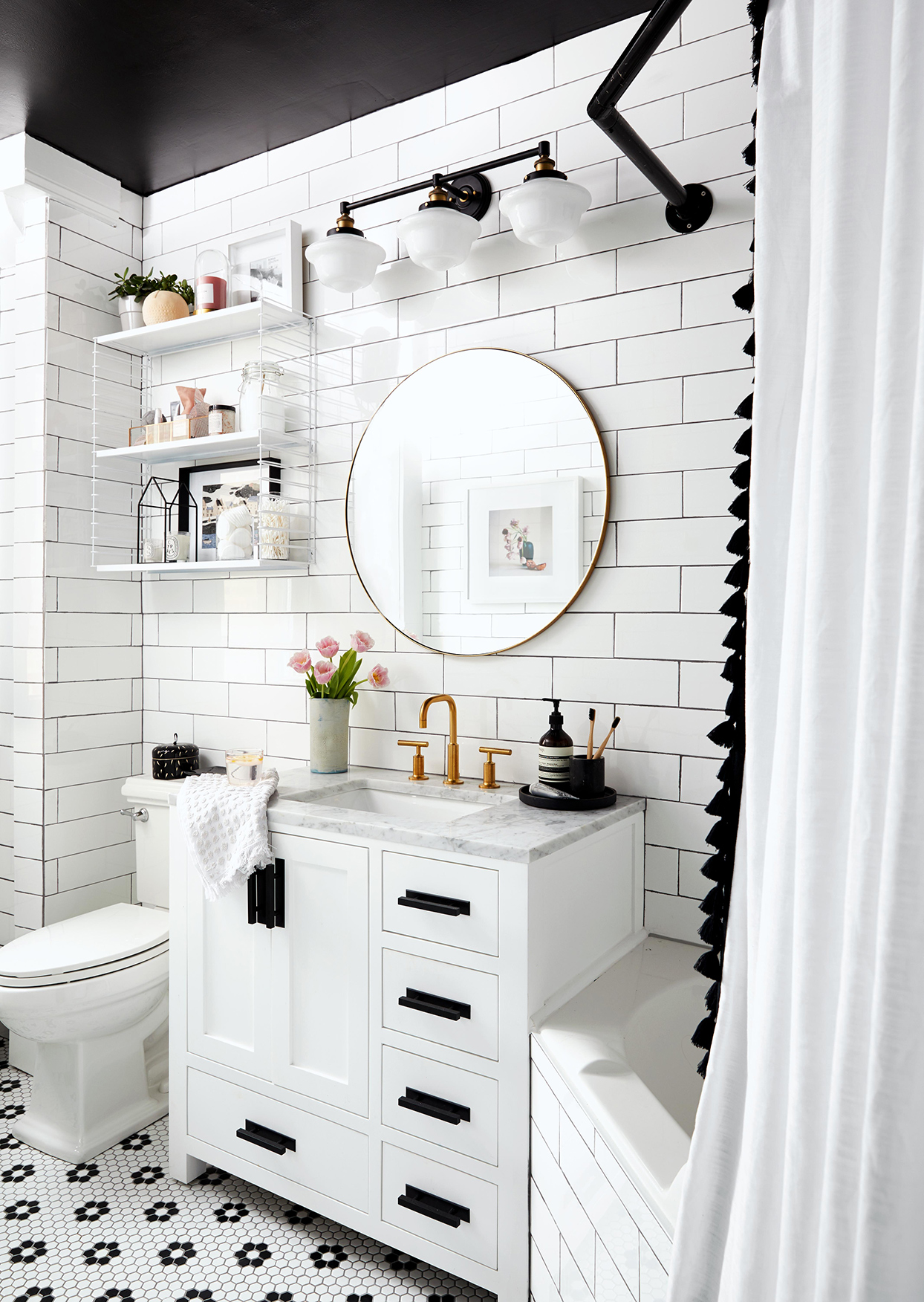 19 Small Bathroom Vanity Ideas That Pack In Plenty Of Storage Better Homes Gardens