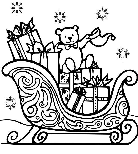 printable holiday coloring pages # 21