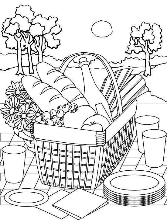 summer coloring pages printable # 16