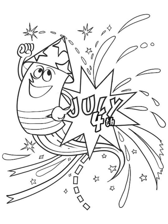 26 Free 26th of July Coloring Pages for Kids  Parents