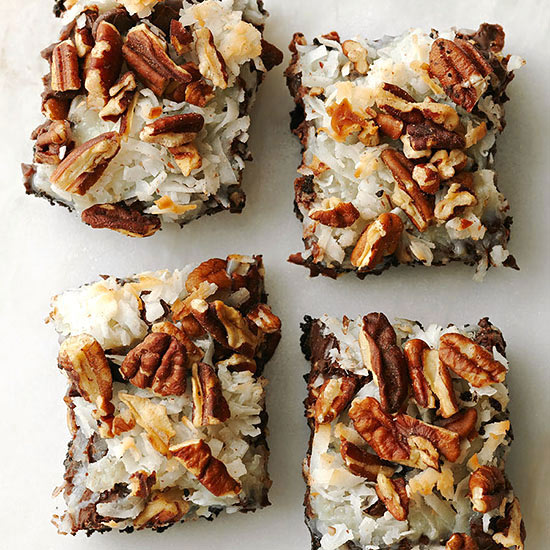 German Chocolate Bar Cookies Family Circle