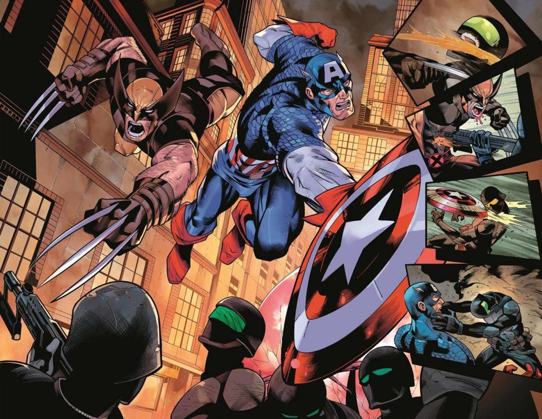 New Marvel comic to focus on Wolverine, Captain America   EW.com
