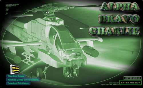 Alpha Bravo Charlie Helicopter Game