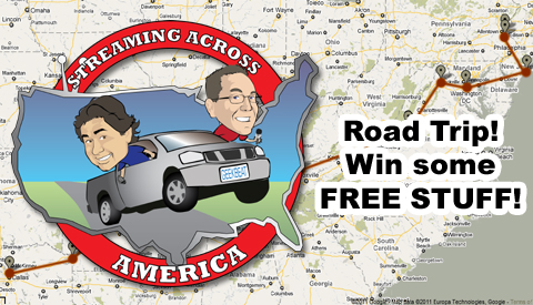 Streaming Across America Road Trip